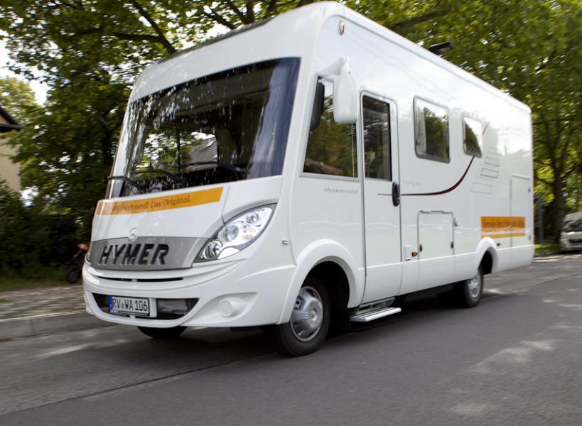 Hymers B-Klass Starliner på Mercedes-Benz