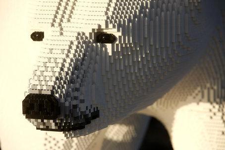 Isbjörnar och pingviner på Legoland