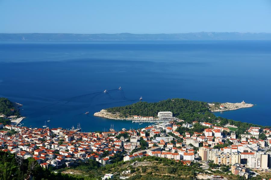 Första rastplatsen för husbilar i Kroatien
