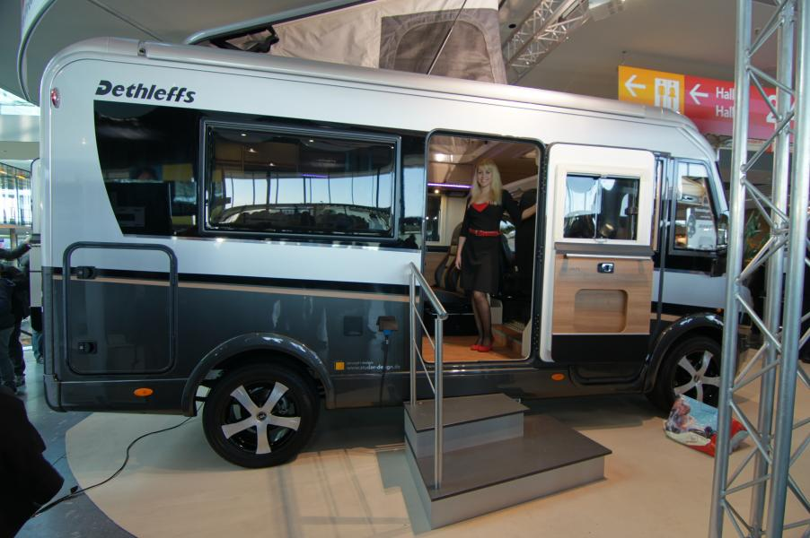 Framtidens husbil visas på CMT i Stuttgart