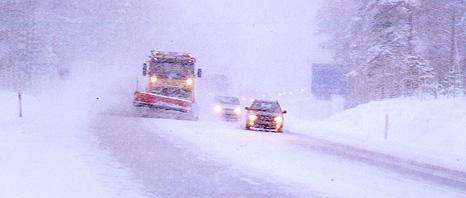 Sänkta hastigheter i Finland