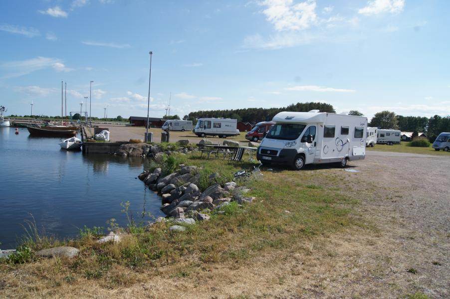 De populäraste campingkommunerna i Sverige