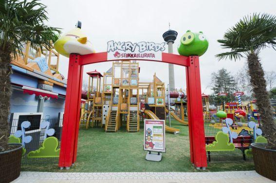 Angry Birds flyttar in i Tammerfors