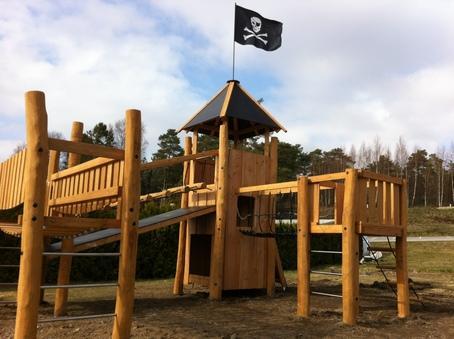 Piratinspirerad hinderbana – nytt på Daftö Resort