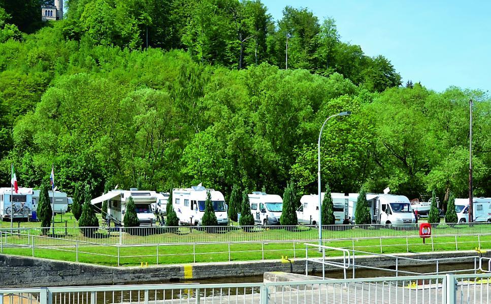 Ställplatser mellan Kassel och Würzburg