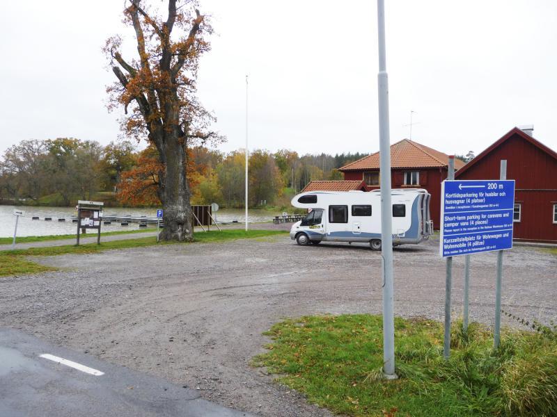 Ställplats: Kanalmagasinet & Sjötorp