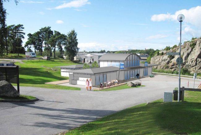 Nytt servicehus i Strömstad
