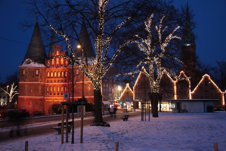 Juläventyr i Hamburg