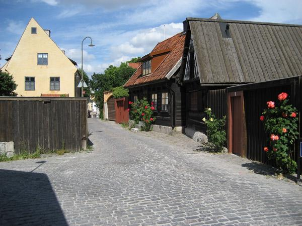 Längre camping på Gotland