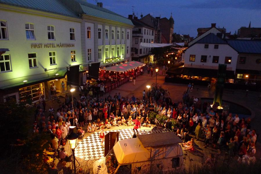 International Street Market till Halmstad