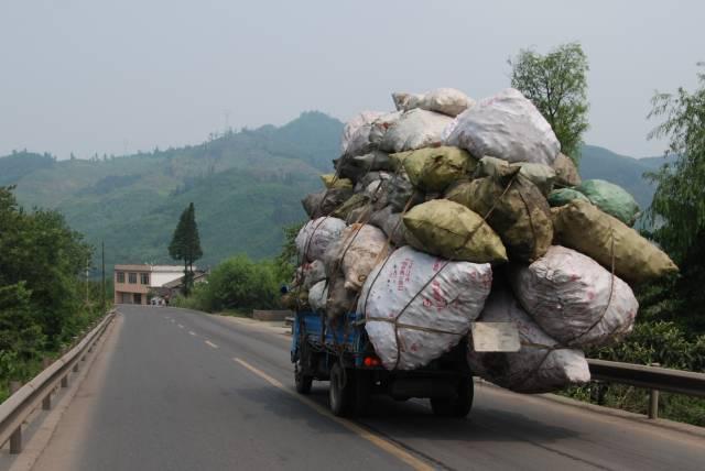 För låg lastvikt redan från början...