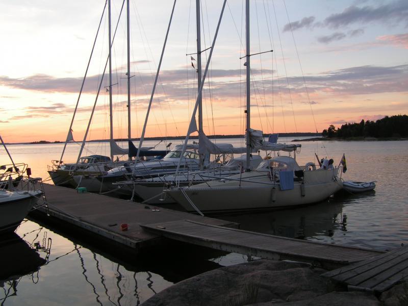 Kristinehamns gästhamn på entreprenad