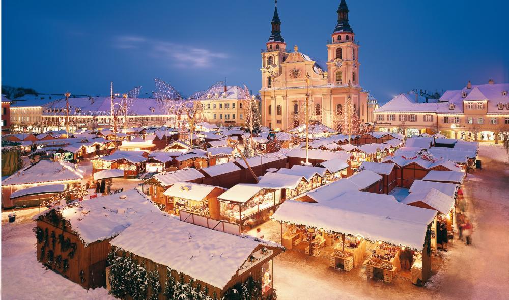 App med tyska julmarknader