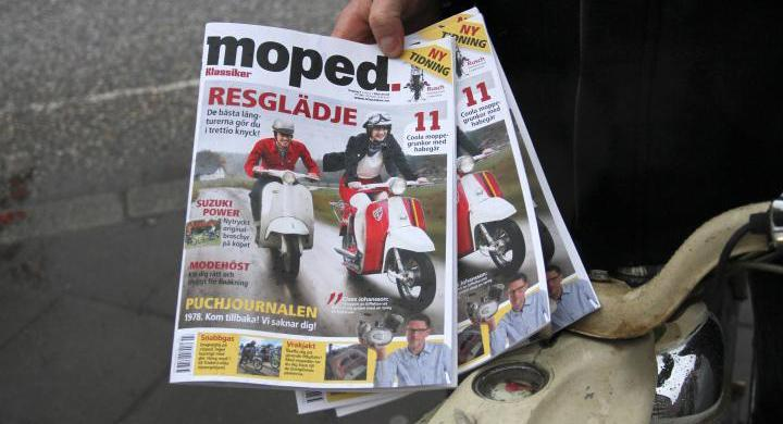 Klassiker Moped –tidning för fantaster