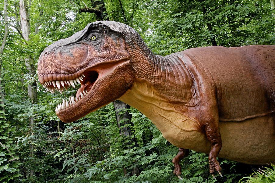Dinosauriernas Tid på Parken Zoo