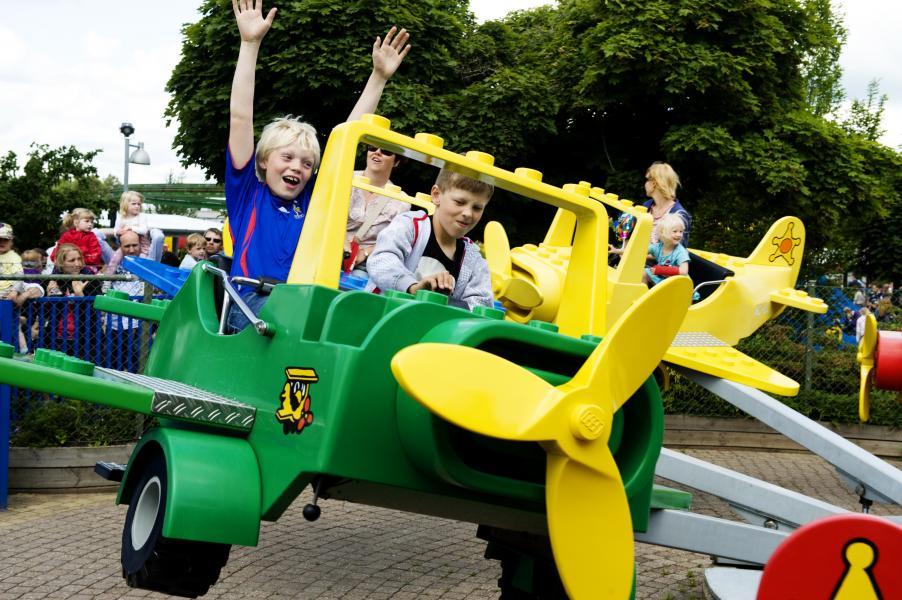 Danmark populärt hos barnfamiljer