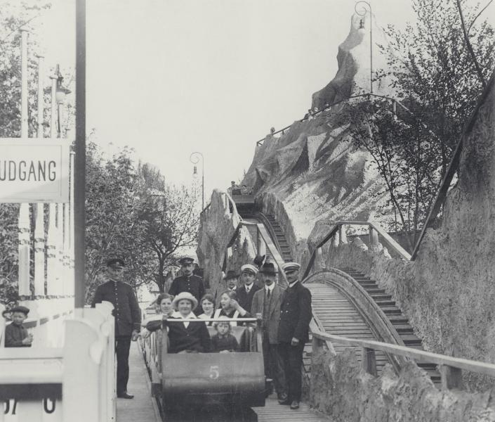 Tivolis bergbana byggs om