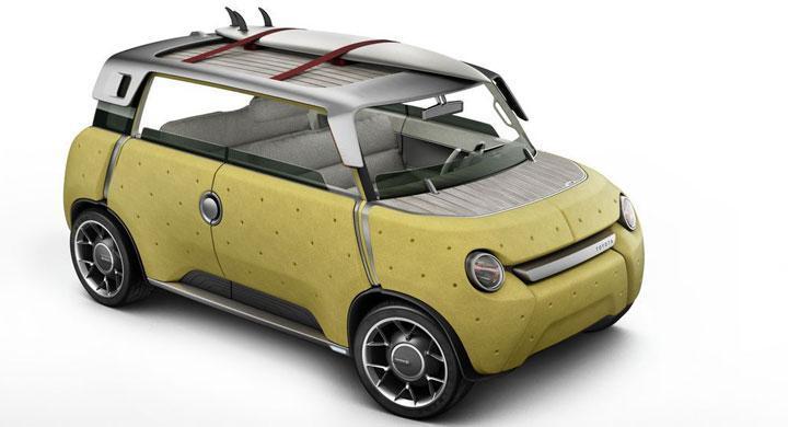 Toyota ME.WE – framtidens bil i bambu och plast