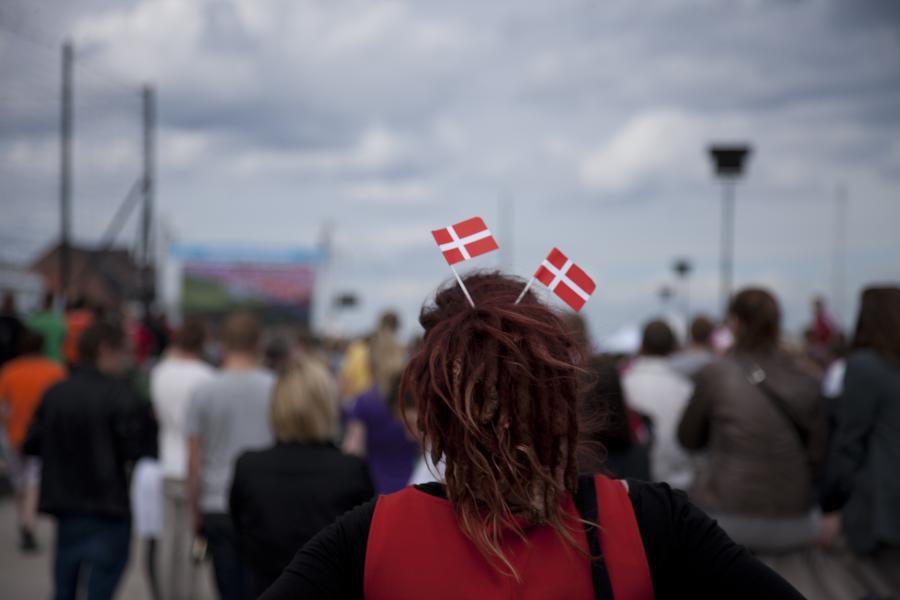 Danmark ockuperar Kungsträdgården