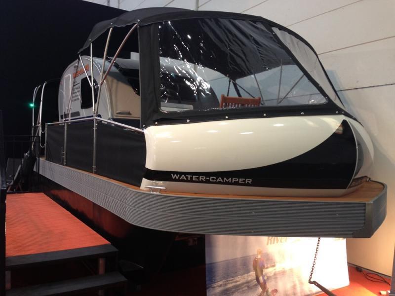 2014: Husvagn blir husbåt