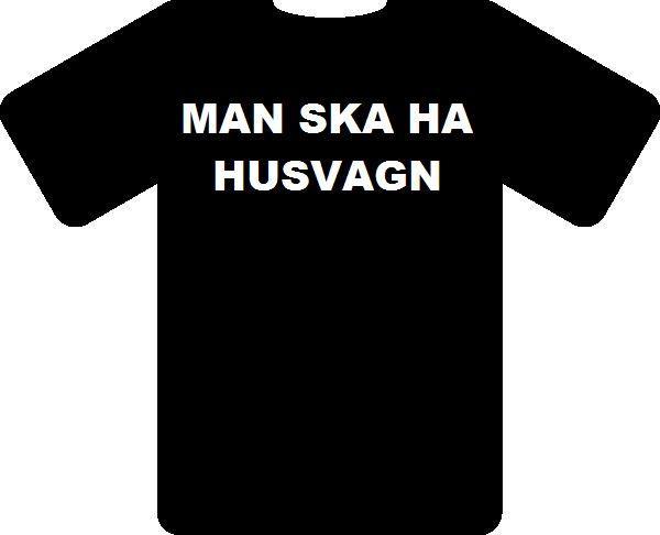 En T-shirt för husbils- och husvagnsfolket