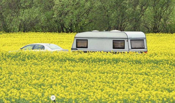 Tysk campingkatalog på nätet