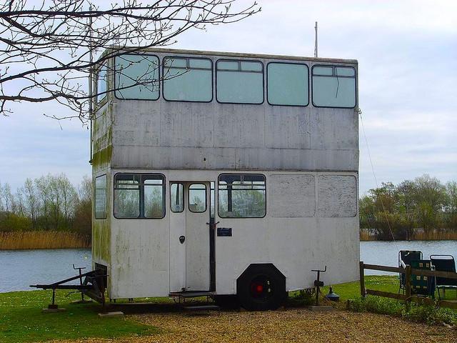 Husvagn i penthouse-stil