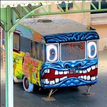 En husvagn för den argsinte