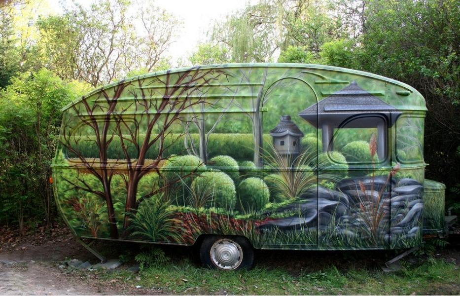 Husvagn för naturvännen