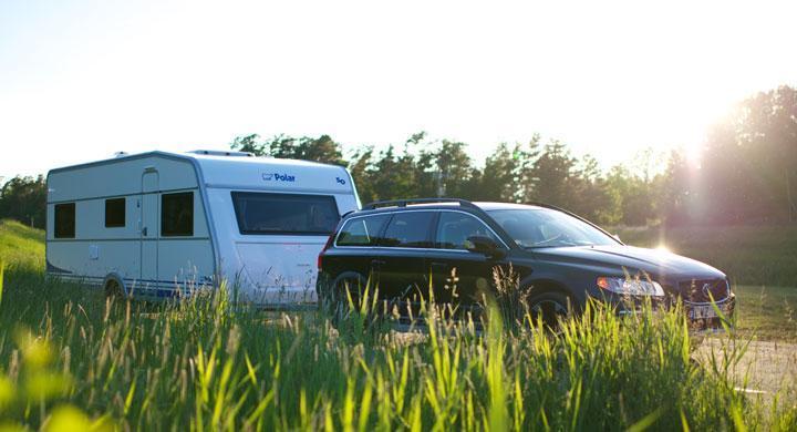 Hur tung husvagn kan vi dra med ny Volvo?