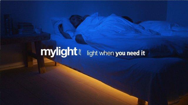 Mylight, automatiskt ljus på natten