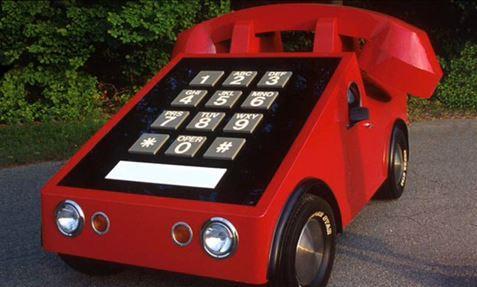 Detta är en riktig mobiltelefon