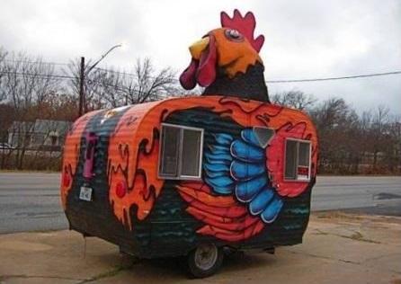 Husvagn för påskfirandet