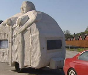 Husvagn med moderskänslor