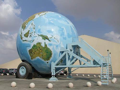 Husvagn för en globetrotter