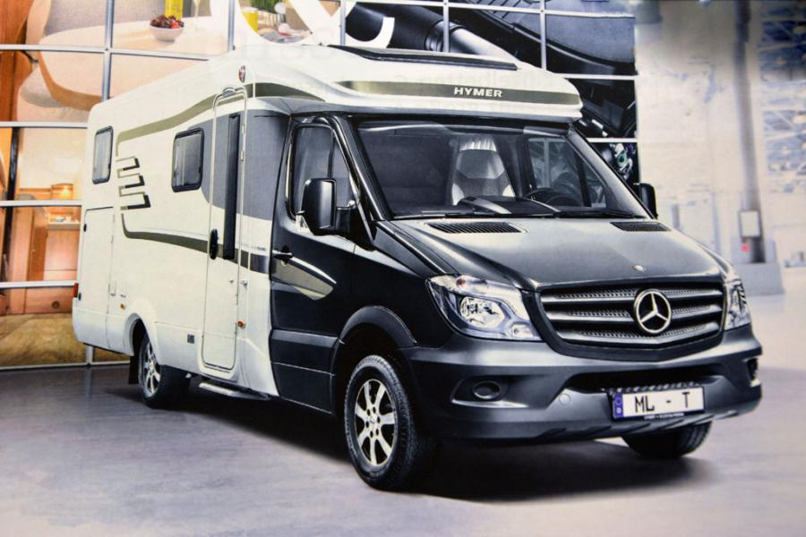 Hymer ML-T på Mercedeschassi