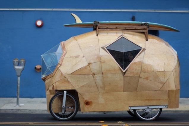 En förpackad husbil