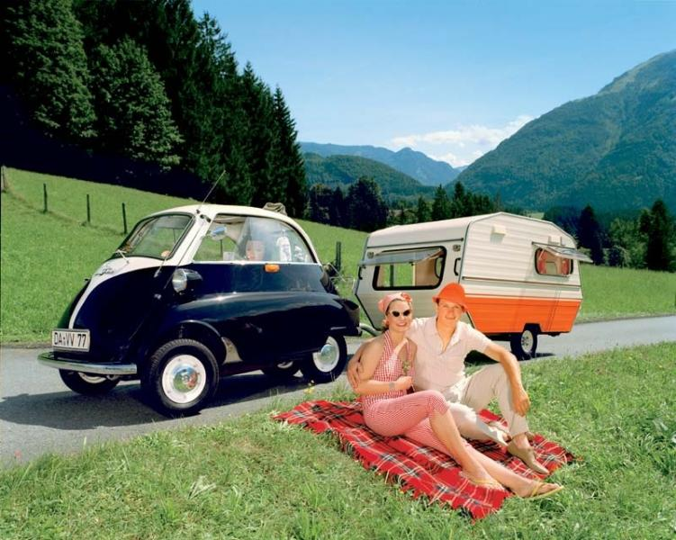 Isetta med miniatyrvagn