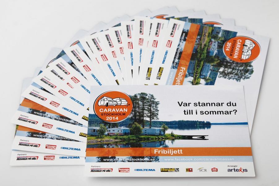 Vinn biljetter till årets första mässa, Caravan Stockholm 13-16/2