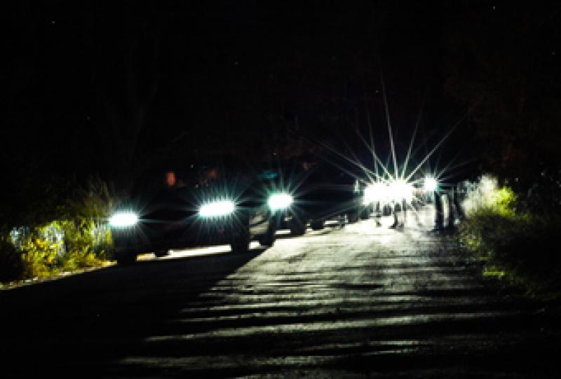Sämre belysning sänker hastigheter för lite