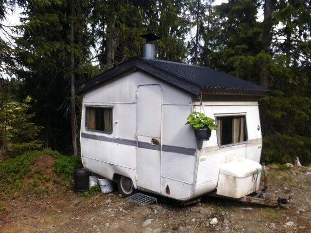 En riktig husvagn har skorsten