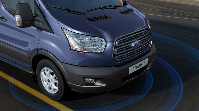 Nytt Ford Transit-chassi