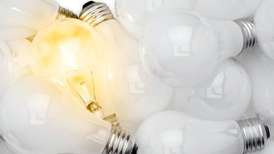 Tunn och böjbar belysning kan ersätta glödlampor