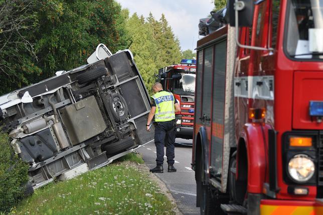 Sverige hamnar i topp i trafiksäkerhet