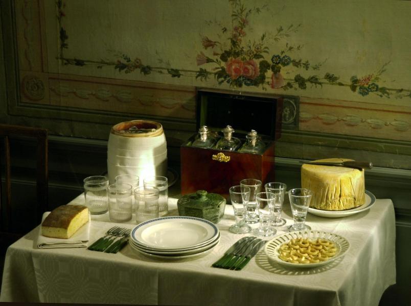 Brännvinsbord på Gripsholms slott