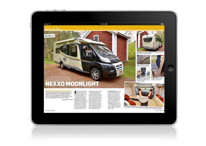 Så här läser du Husbil & Husvagn digitalt