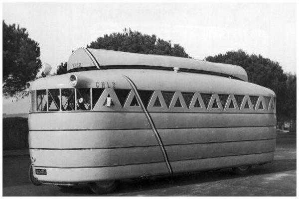 Husbil från 30-talet