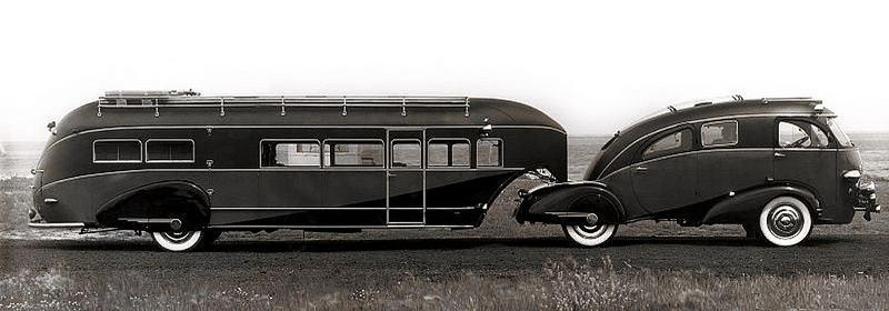 1937 Brooks Stevens Zephyr Land Yacht