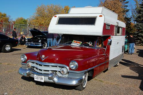 En härlig Cadillac