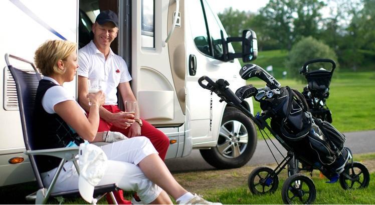 Golfrundan Husbilen Open i Vadstena